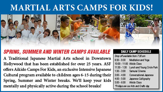 Marttial Arts Kids Camps